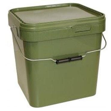 17 Litre Square Green Bait Bucket