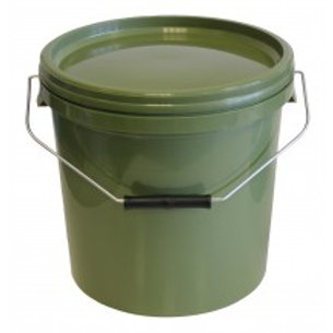 10 Litre Round Green Bait Bucket