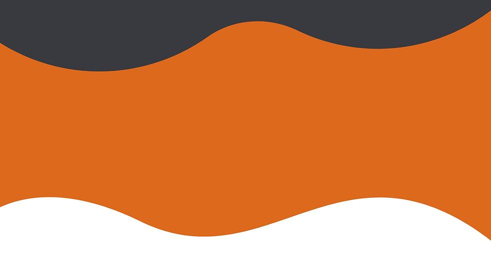 Orange and White Modern Teamwork Keynote