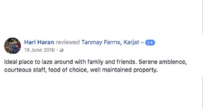 Tanmay Farms, Karjat