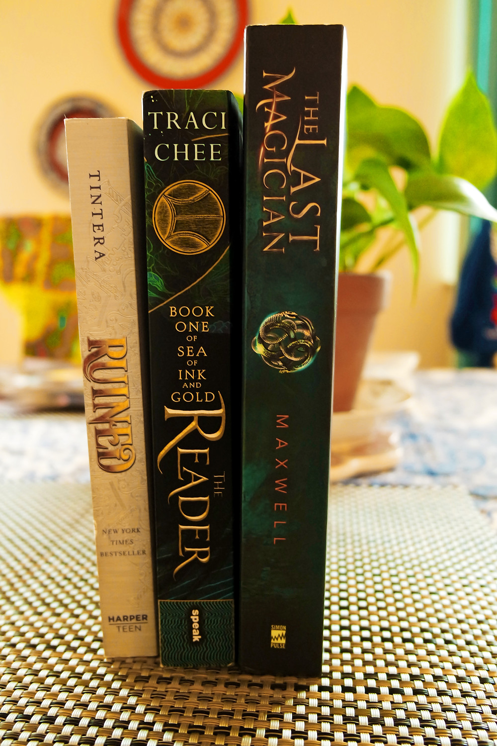 October Books - Ruined, The Reader, The Last Magician