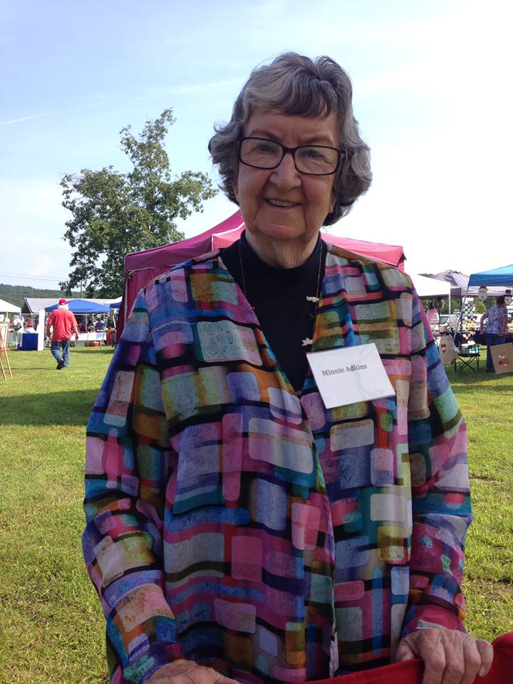 Minnie Adkins, Folk Artist