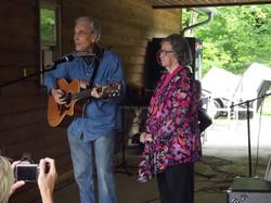 Mike Norris and Minnie Adkins