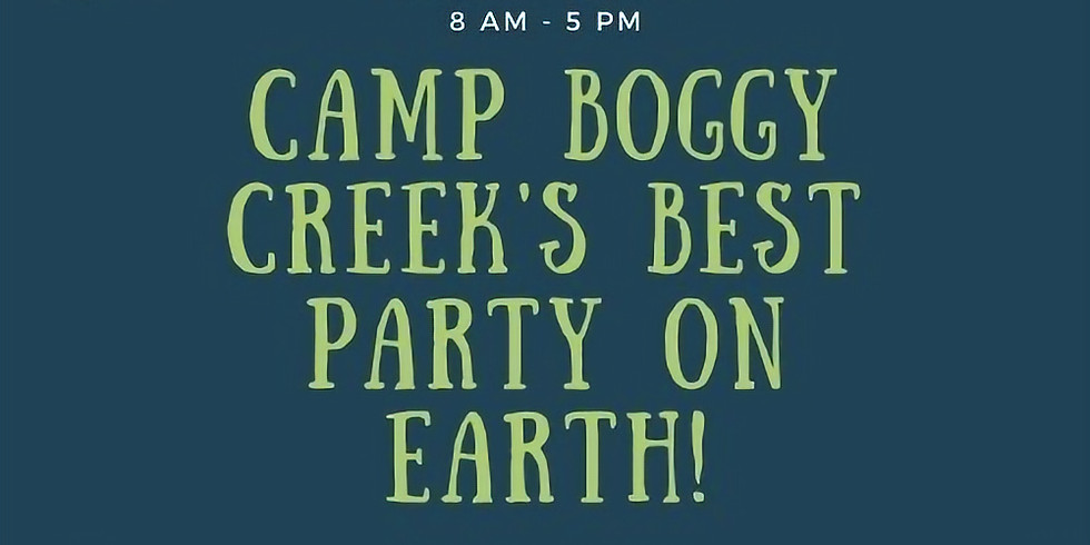 Service-Camp Boggy Creek's Best Party On Earth!