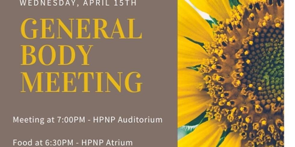 General Body Meeting 4