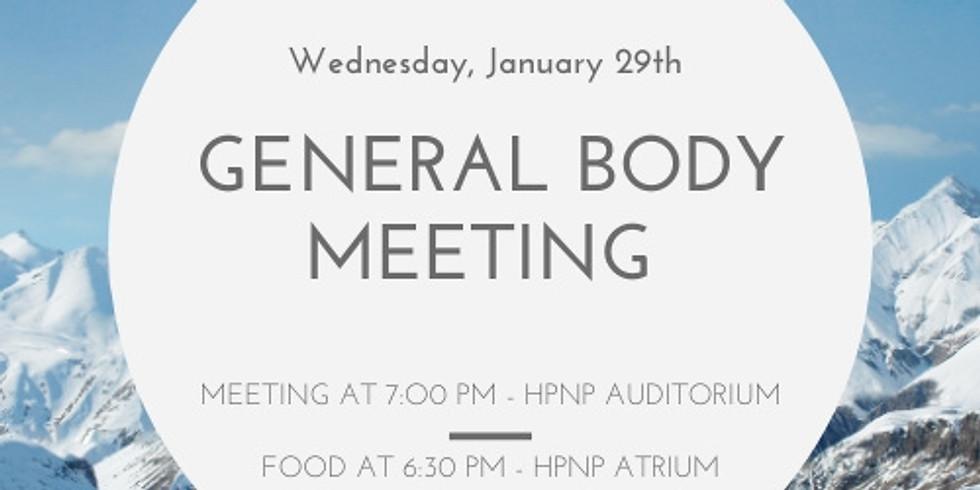 General Body Meeting 1
