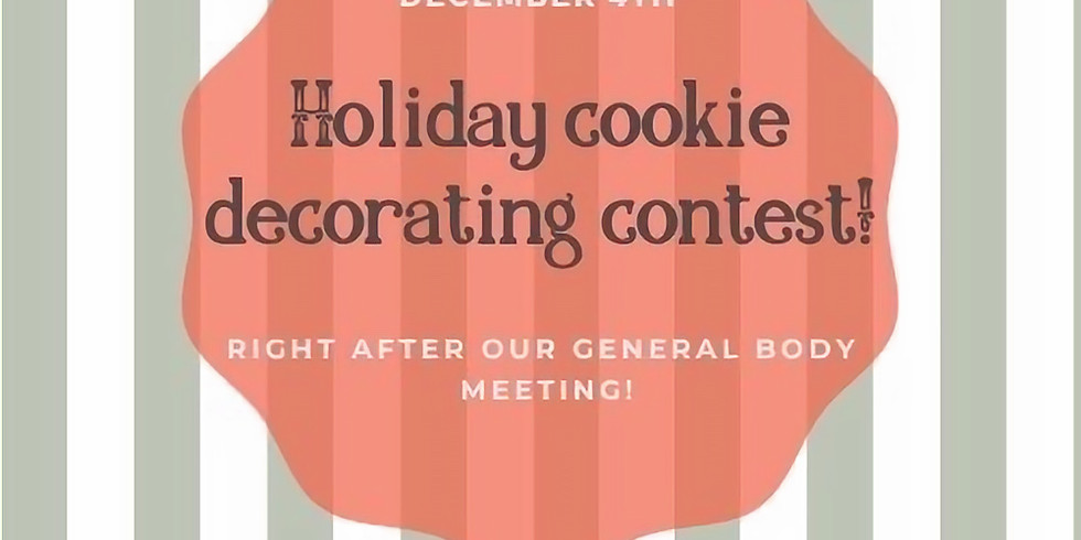 Philanthropy - Holiday Cookie Decorating