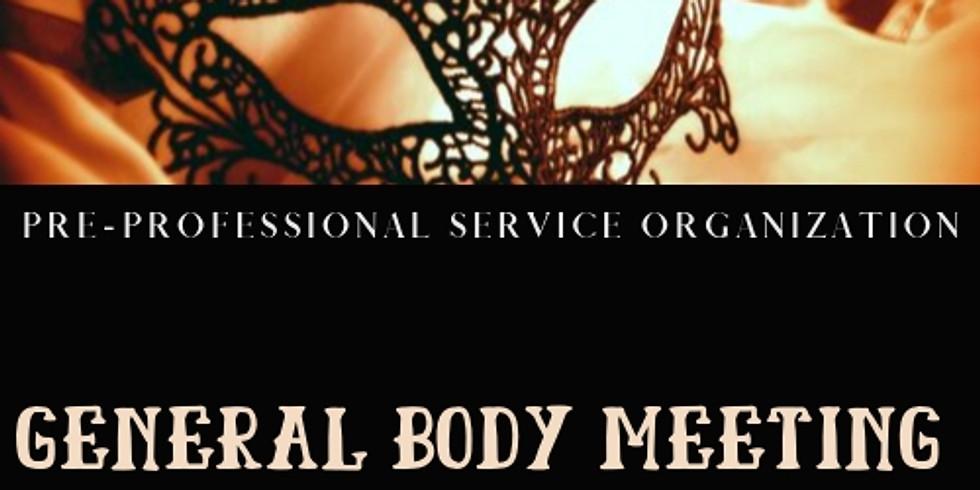 General Body Meeting 2