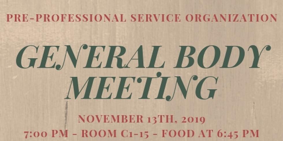 General Body Meeting 3