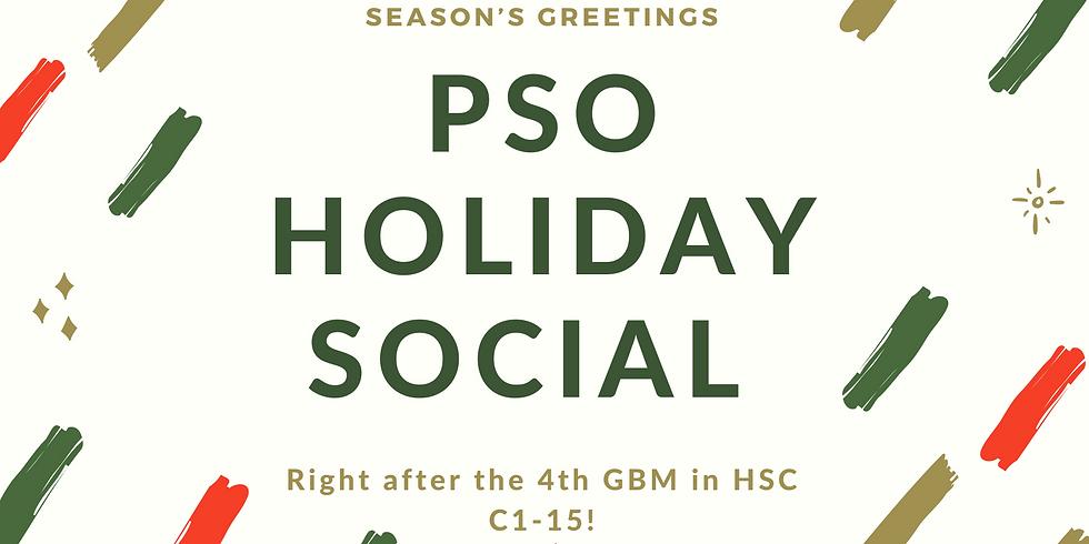 Social - PSO Holiday Social