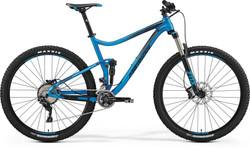 ONE-TWENTY XT Edition mat blauw