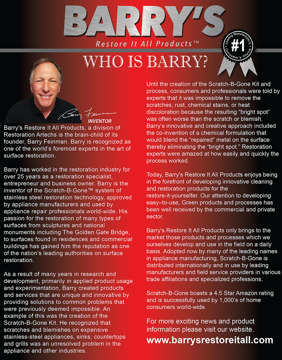 Who is Barry Feinman?