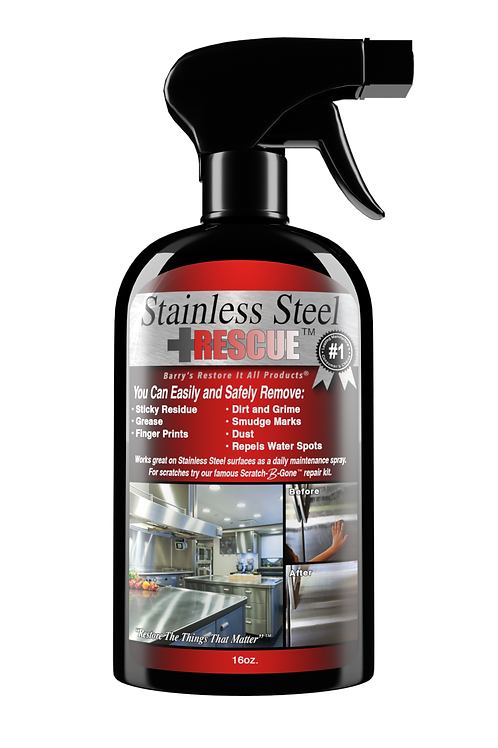 Stainless Steel Rescue Maintenance Spray™ 16oz.