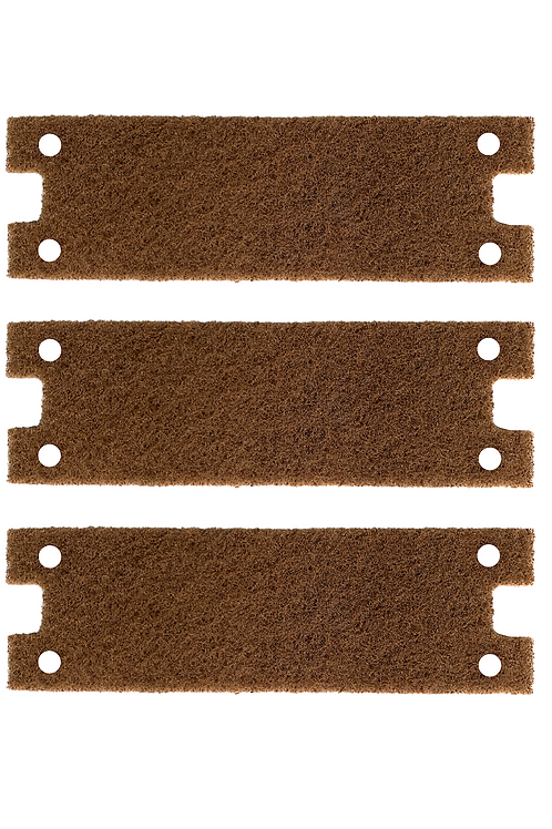 SCRATCH-B-GONE Brown Finishing Pad