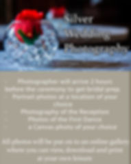 SilveWedding Photography Package