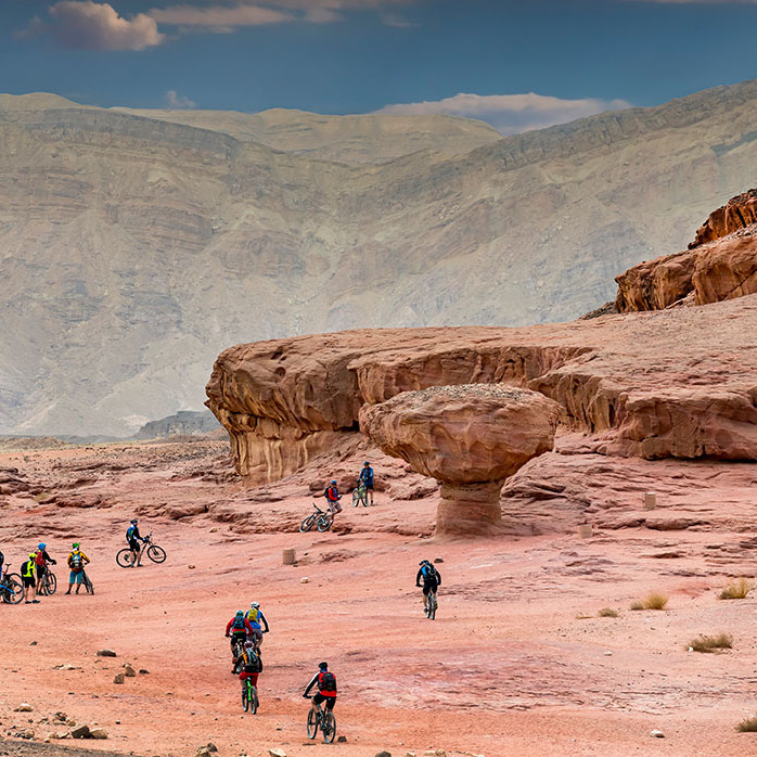 Sde-Boker to Eilat - Riding along the Israeli National Bike trail