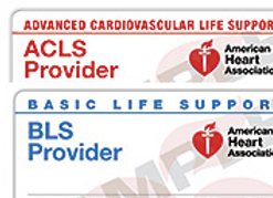 (ACLS) and (BLS) Combo Course $170.00