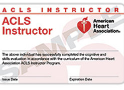 ACLS Instructor Renewal