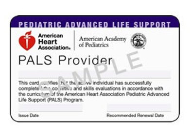 Duplicate PALS Card