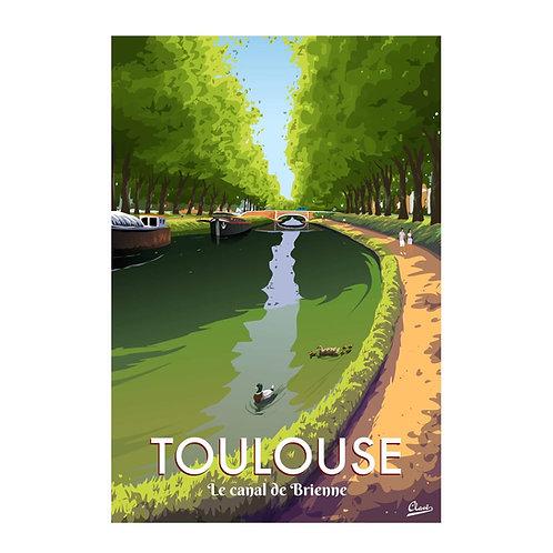 Canal de Brienne Toulouse