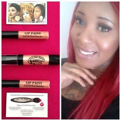Lip Gloss & Rose Gold