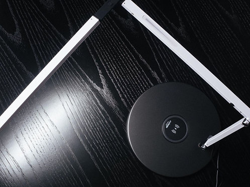 Z-Bar Mini Task Light with Wireless Charger Integration
