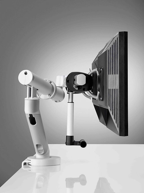 Flo Plus Dynamic Arm with Desk Clamp Fixing