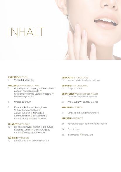 Kosmetik Akademie Engel - Kosmetik Guide Produktverkauf