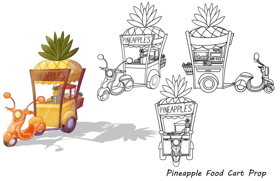 props pineapple cart turnaround_color_li