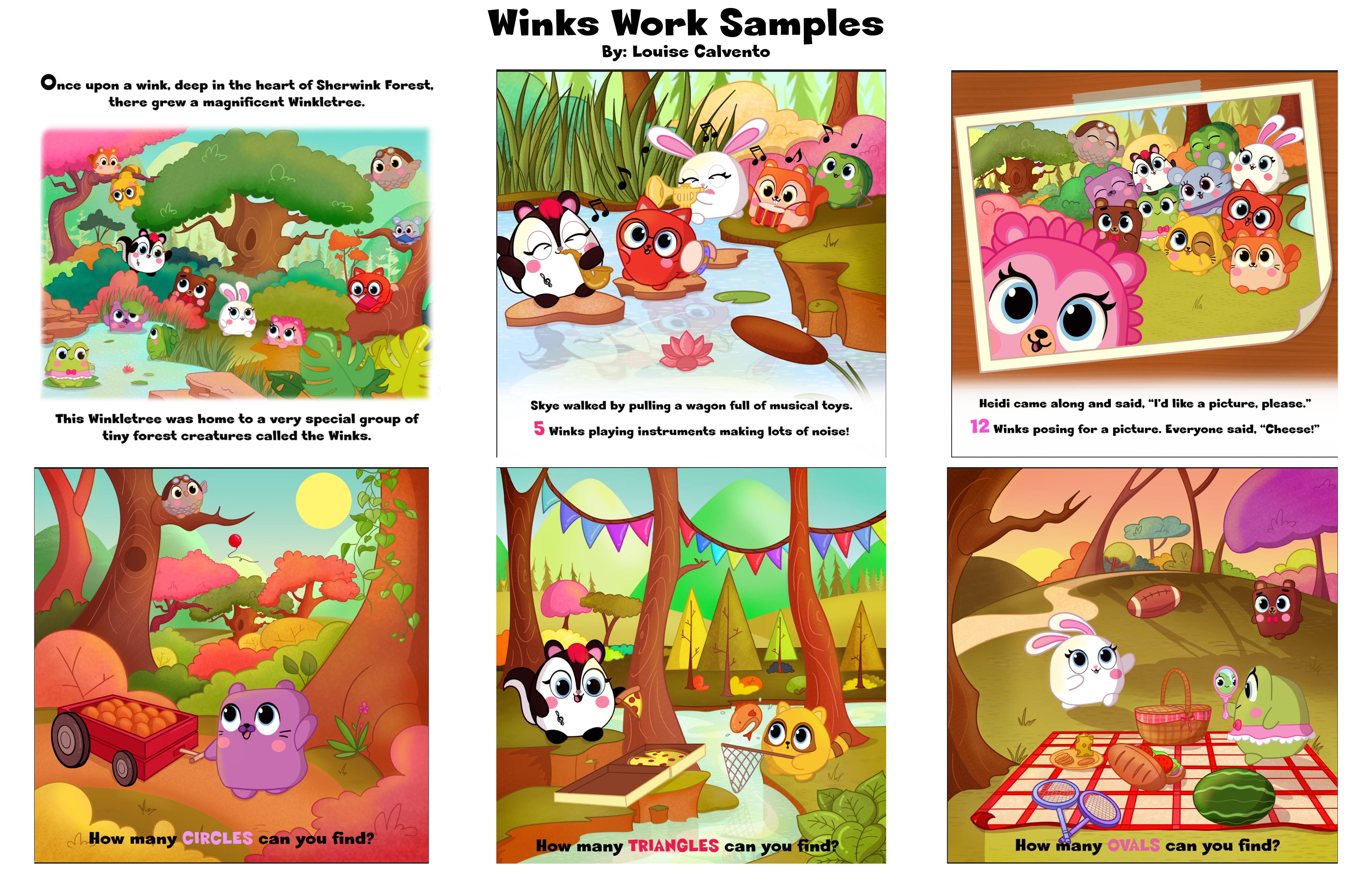 Winks Work Sample