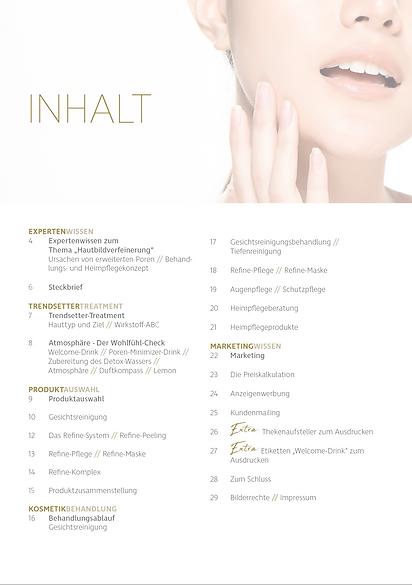 Kosmetik Akademie Engel - Success Magazin Poren-Minimizer Inhalt
