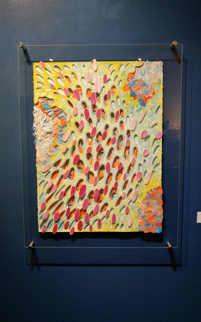 Quilt I - install at Saint-Germain Gallery