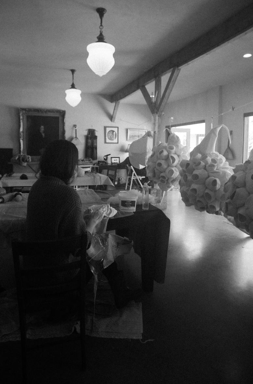 Spring 2021 studio process photography