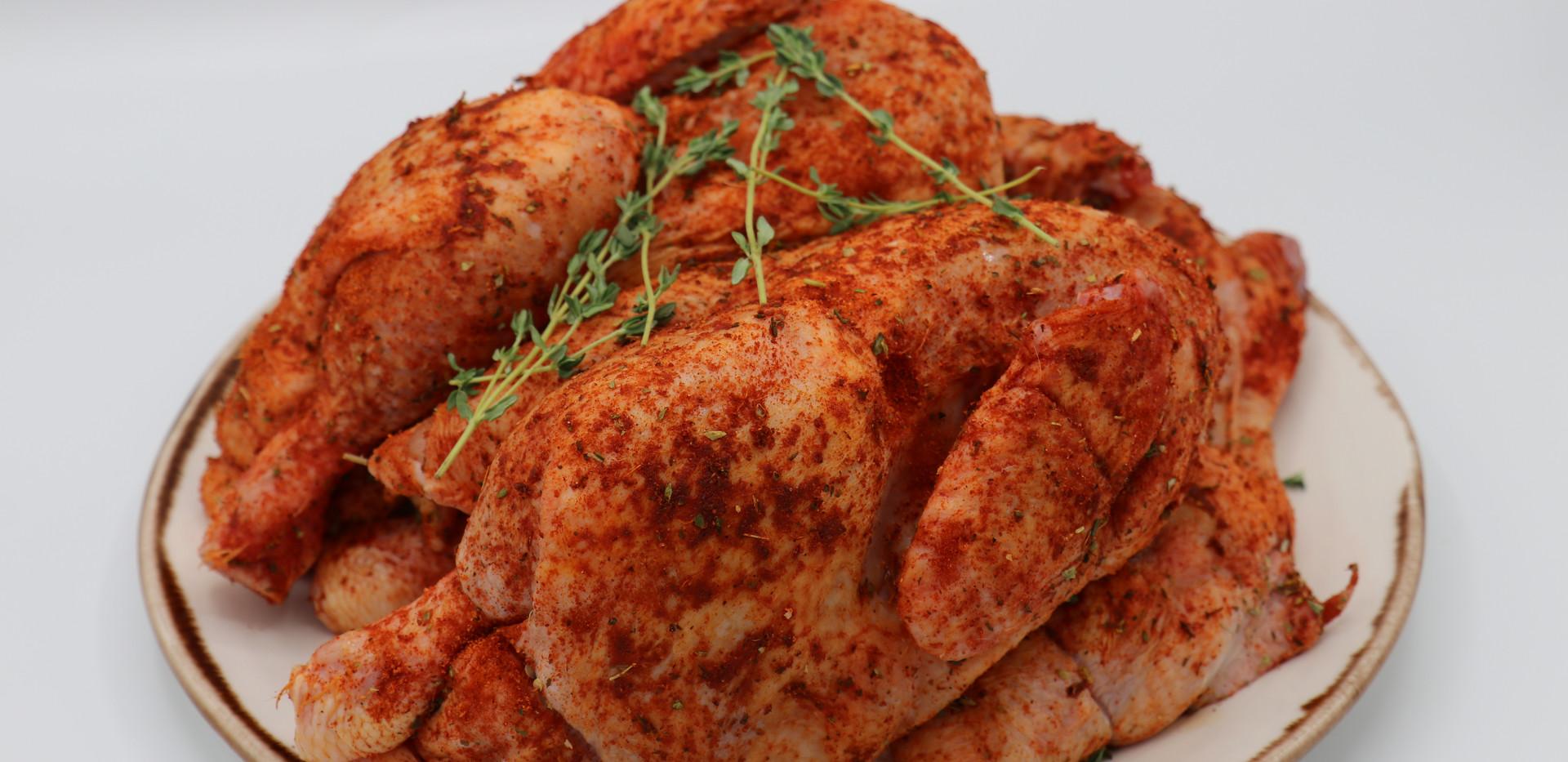BBQ Marinated Spatcock Chicken