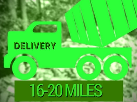 16-20 Mile Delivery