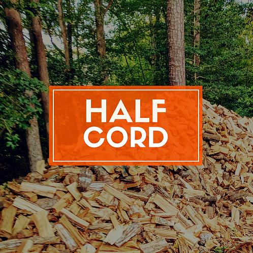 Half Cord of Seasoned Firewood