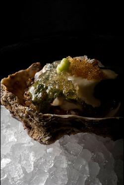 天然牡蠣の海藻ゼリーよせ