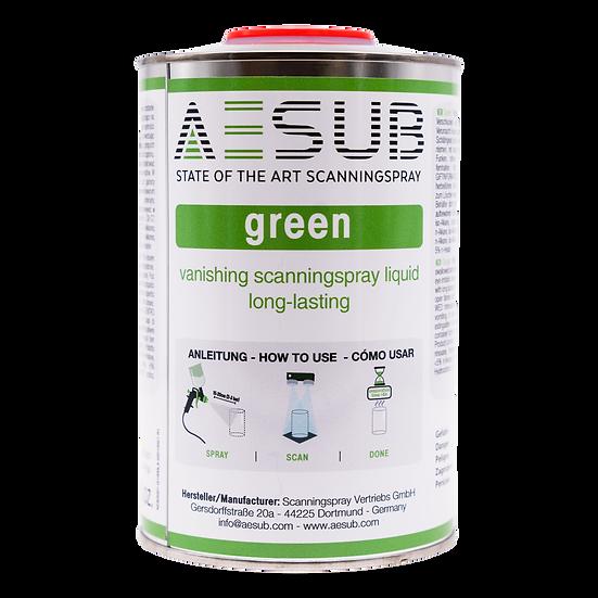 AESUB Green Scanning Spray 1L