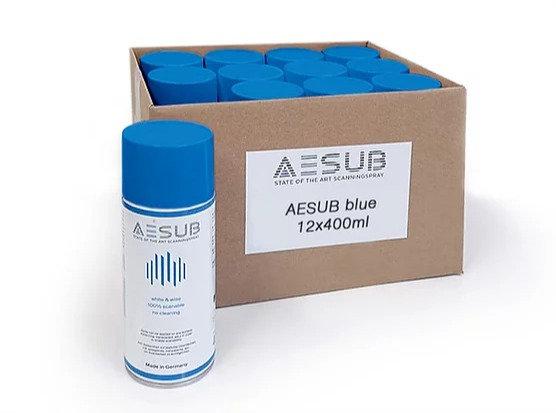AESUB Blue Scanning Spray 12 Cans