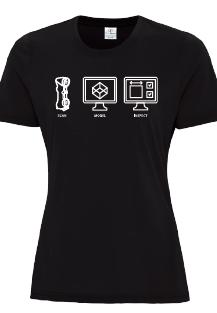 Rapid3D T-Shirt -Men's