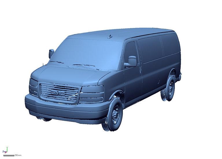 "2021 GMC Savana 3500 155"" WB Cargo"