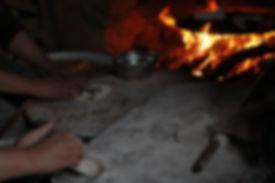 Turkish mom's handmade pita bread