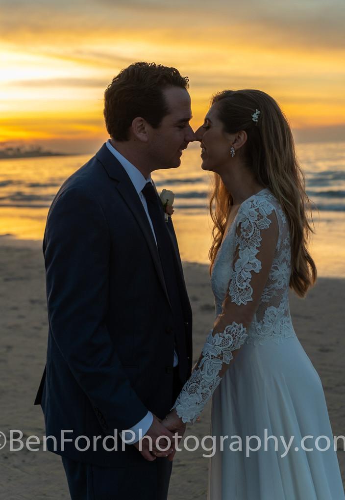 Wedding Portfolio Beach Sunset. BenFordP