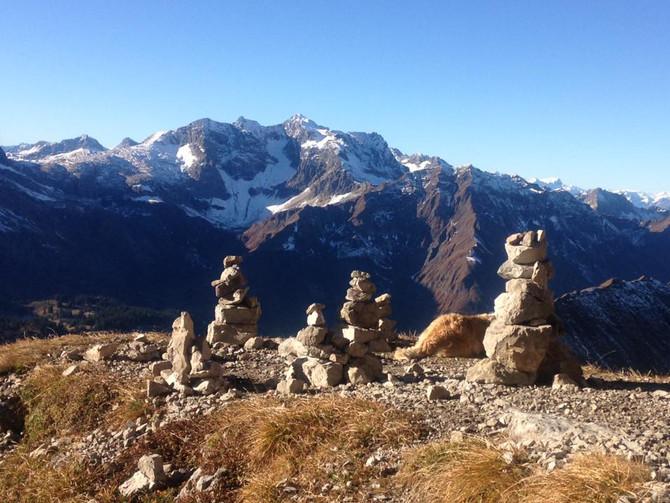 Widderstein und Höferspitze, wunderschöner Herbsttag
