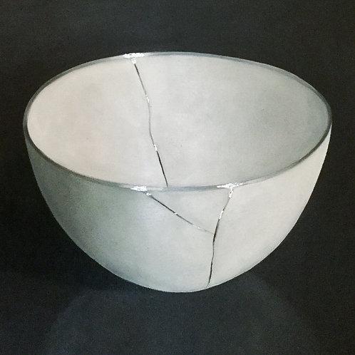 White Silver Kintsugi