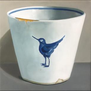 Blue Bird Beaker
