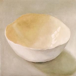 Yellow eggshell bowl