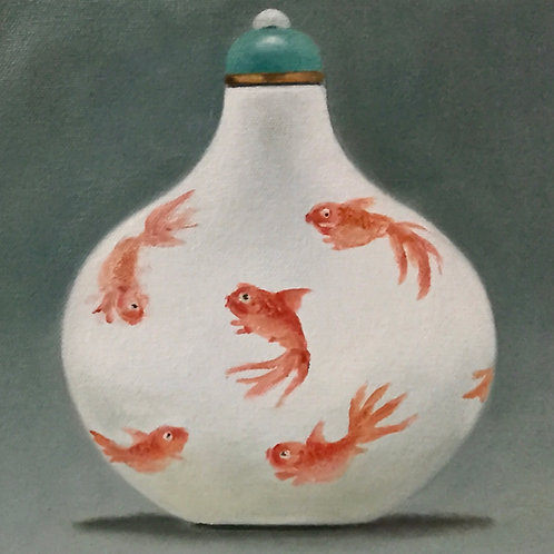 GoldFish Snuff Bottle