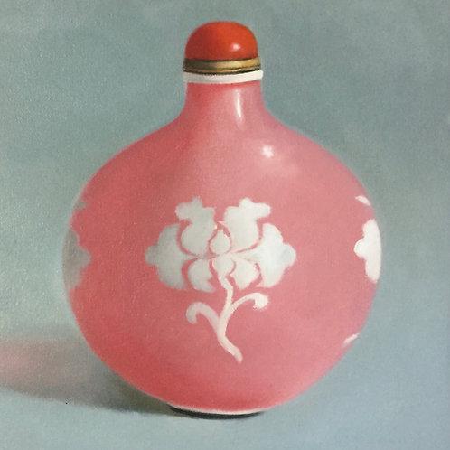 Pink Snuff Bottle