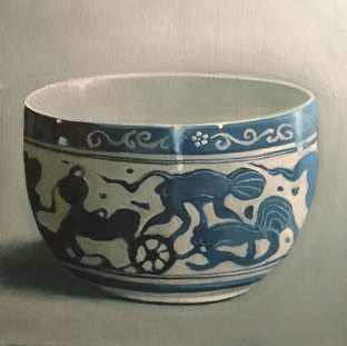 Chinese bowl Chariot